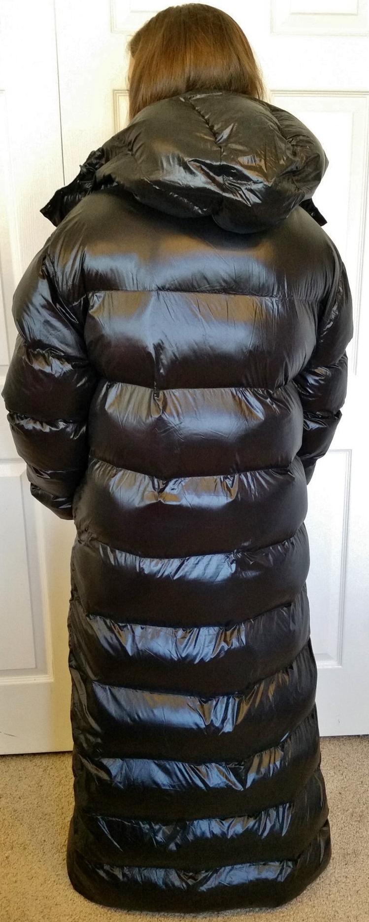 Bnwt Tianyoutextile Black Camo Long Coat Hoody 3xl