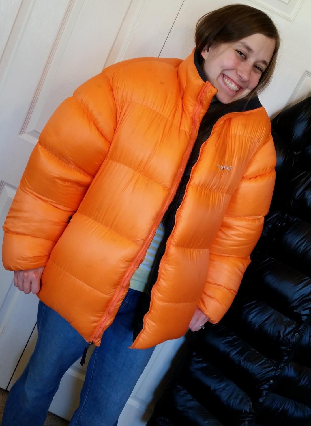 Overstuffed Montbell Baffled Down Jacket Xl 350 Wasatch