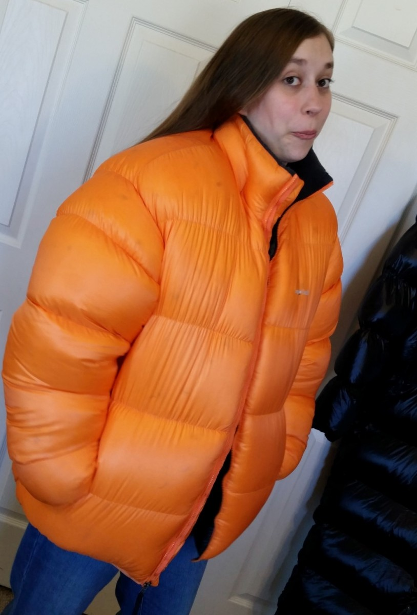 Overstuffed Montbell Baffled Down Jacket Xl 350 Wasatch