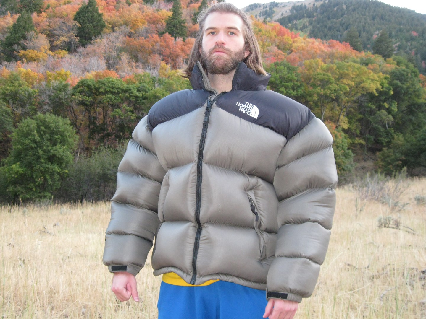 21751ad69e Jacket Weather. I would like to introduce our new Viking models!! Wearing a  massive 3XL Nuptse