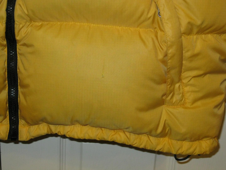 Yellow XXL Nuptse complete!  858e84987