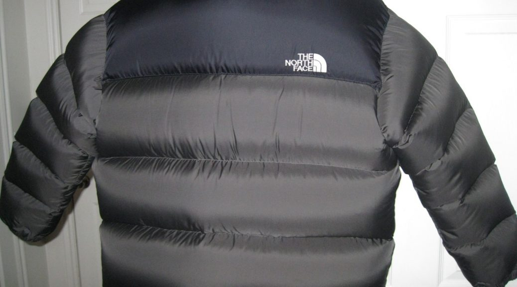 Gray XXL North Face Nuptse Complete with 2 pounds of extra down ... 8f51bad96