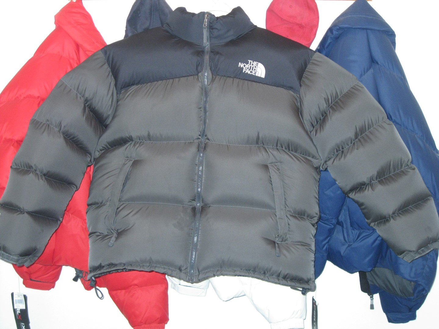 Gray Xxl North Face Nuptse Complete With 2 Pounds Of Extra